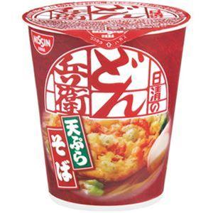 (まとめ)日清食品 日清のどん兵衛 天ぷらそばタテ型 81g 1ケース(20食)【×4セット】 - 拡大画像