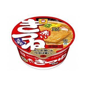 (まとめ)東洋水産 マルちゃん赤いきつねうどん(関西)1セット(24個)【×4セット】 - 拡大画像