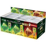 (まとめ)伊藤園 おーいお茶プレミアムティーバッグ アソート3種 1セット(180バッグ:60バッグ×3箱)【×3セット】