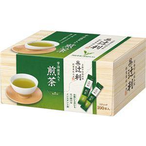 (まとめ)辻利 インスタント宇治抹茶入り煎茶0.8g 1セット(200本:100本×2箱)【×3セット】 - 拡大画像