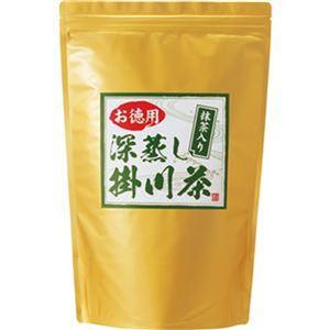 (まとめ)丸山製茶 お徳用 抹茶入り 深蒸し掛川茶1kg/袋 1セット(3袋)【×3セット】 - 拡大画像