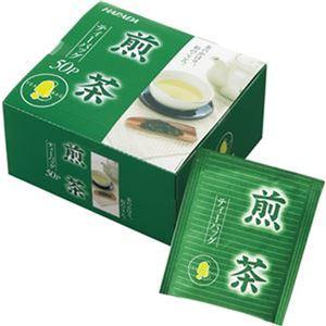 (まとめ)ハラダ製茶 徳用煎茶ティーバッグ 2g 1セット(600バッグ:50バッグ×12箱)【×3セット】 - 拡大画像