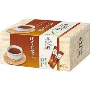 (まとめ)辻利 インスタントほうじ茶 0.8g 1セット(200本:100本×2箱)【×3セット】 - 拡大画像