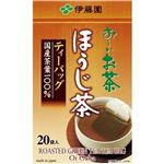 (まとめ)伊藤園 おーいお茶 ほうじ茶ティーバッグ2.0g 1セット(400バッグ:20バッグ×20箱)【×3セット】