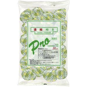 (まとめ)三井農林 濃縮緑茶ポーション 1セット(90個:30個×3パック)【×3セット】 - 拡大画像