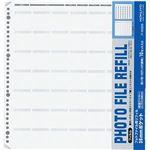 (まとめ)コクヨ フォトファイル替台紙 四つ切フィルム用 35mmポケット両面クリヤー10枚+コンタクト台紙10枚 ア-M325 1セット(5パック)【×3セット】