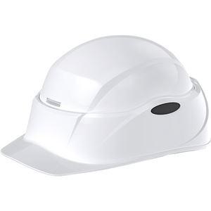 (まとめ)谷沢製作所 防災用ヘルメット Crubo ホワイト ST#E041-W-J 1個 【×3セット】 - 拡大画像