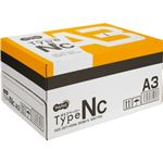 (まとめ)TANOSEE αエコペーパータイプNC A3 1箱(2500枚:500枚×5冊) 【×3セット】