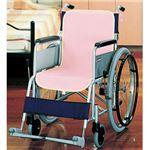 (まとめ)ケアメディックス 車椅子シートカバー ピンク 44020P 1パック(2枚) 【×3セット】