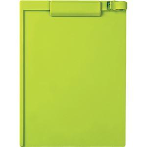 (まとめ)セキセイ クリップボード A4タテ ライトグリーン SSS-3056P-LG 1セット(10枚) 【×3セット】 - 拡大画像