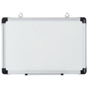 (まとめ)TANOSEE 壁掛け用ホーローホワイトボード 無地 450×300mm 1枚 【×5セット】 - 拡大画像