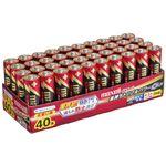 (まとめ)マクセル アルカリ乾電池 ボルテージ単3形 業務用パック LR6(T) 40P TR 1箱(40本) 【×5セット】