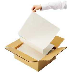 (まとめ)TANOSEE ボーガスペーパー(箱入り) 355×304.8mm 1箱(900折) 【×5セット】 - 拡大画像