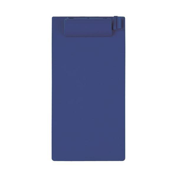 (まとめ)セキセイ クリップボード 伝票サイズ タテ ネイビーブルー SSS-2059P-NB 1セット(10枚) 【×5セット】