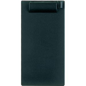 (まとめ)セキセイ クリップボード 伝票サイズ タテ ブラック SSS-2059P-BK 1セット(10枚) 【×5セット】 - 拡大画像