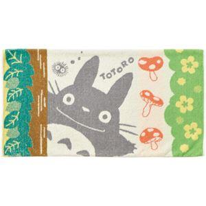 (まとめ)丸眞 タオル枕カバー となりのトトロ「森林浴」 1枚 【×5セット】 - 拡大画像
