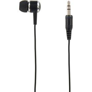 (まとめ)ヤザワ カナル型 片耳イヤホン ステレオプラグ 1m ブラック TMS1061BK 1個 【×10セット】 - 拡大画像