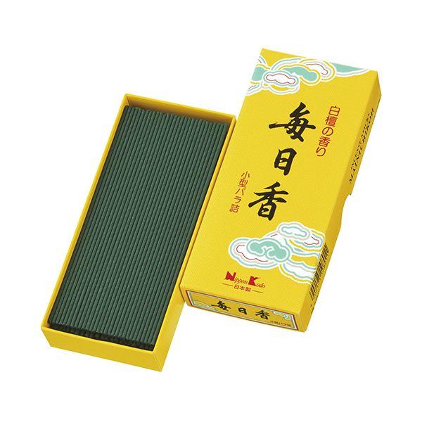 (まとめ)日本香堂 毎日香 小型 バラ詰 1箱 【×10セット】