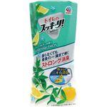 (まとめ)アース製薬 トイレのスッキーリ!ヴァーベナ&レモン 400ml 1個 【×10セット】
