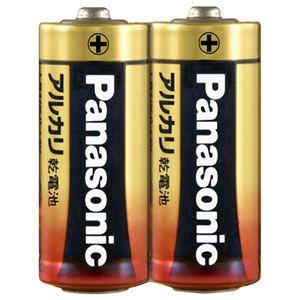 (まとめ)パナソニック アルカリ乾電池 単5形 LR1XJ/2S 1パック(2本) 【×30セット】 - 拡大画像