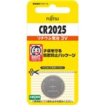 (まとめ)FDK 富士通 リチウムコイン電池 3VCR2025C(B)N 1個 【×30セット】