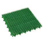 (まとめ)山崎産業 若草ユニット E-V1帖用 300×300×20mm グリーン 1枚 【×50セット】