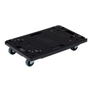 (業務用2個セット)三甲(サンコー) 台車/荷車 サンキャリー PAL2 ブラック(黒)  - 拡大画像