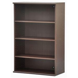 カラーボックス(収納棚/カスタマイズ家具) 4段 【幅78.9cm×高さ120.3cm】 エイ・アイ・エス 『エシカ』 1280 ブラウン