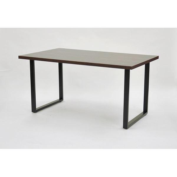 テーブルキッツ テーブル用角枠脚 【ハイタイプ 2本組 ブラック】 スチール製 アジャスター付き 〔DIYキット 什器〕 脚のみ