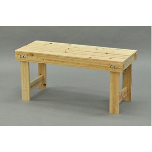 ひのき縁台/ベンチ椅子 【幅90cm】 木製 日本製 ナチュラル 〔玄関 軒先 縁側 ガーデン〕