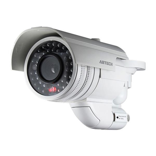赤外線型ダミーカメラ 【屋内/屋外可】 ABTECK-037 〔防犯/万引き・不正行為の威嚇〕