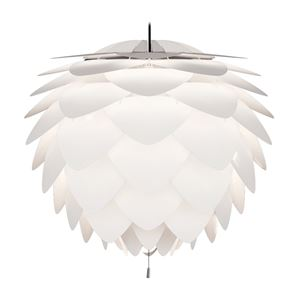 ペンダントライト/照明器具 【3灯】 北欧 ELUX(エルックス) VITA Silvia ホワイト(白)×ブラックコード 【電球別売】 - 拡大画像
