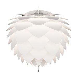 ペンダントライト/照明器具 【3灯】 北欧 ELUX(エルックス) VITA Silvia ホワイト(白)×ホワイトコード 【電球別売】 - 拡大画像