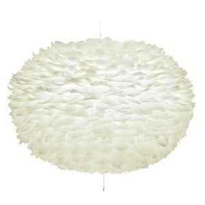 ペンダントライト/照明器具 【シェードのみ】 羽毛×和紙 北欧 ELUX(エルックス) VITA Eos XL ホワイト(白) 【電球別売】 - 拡大画像