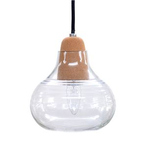 ペンダントライト/照明器具 【1灯/Bタイプ】 ガラス製 レトロ ELUX(エルックス) Colook 【電球別売】