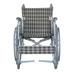 アルミ製 車椅子 【背折れタイプ】 自走・介助兼用 軽量 折り畳み テイコブハンドブレーキ付き 〔介護用品 福祉用品〕 border=
