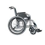 自走式 車椅子 【テイコブ標準型】 折り畳み スチール製 SG取得商品 〔介護用品 福祉用品〕 border=