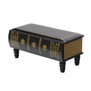 洋書風スツール(ベンチ/腰掛け椅子) Recit 幅75cm 合成皮革(合皮) 内側収納ボックス付き 【完成品】 - 拡大画像