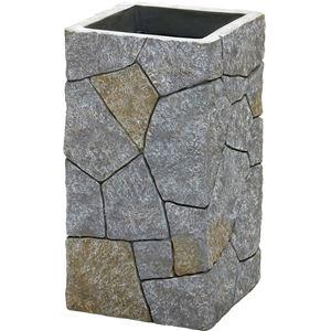 レジン傘立て 石畳デザイン【Pietra(ピエトラ)】 アンブレラスタンド 【完成品】 - 拡大画像