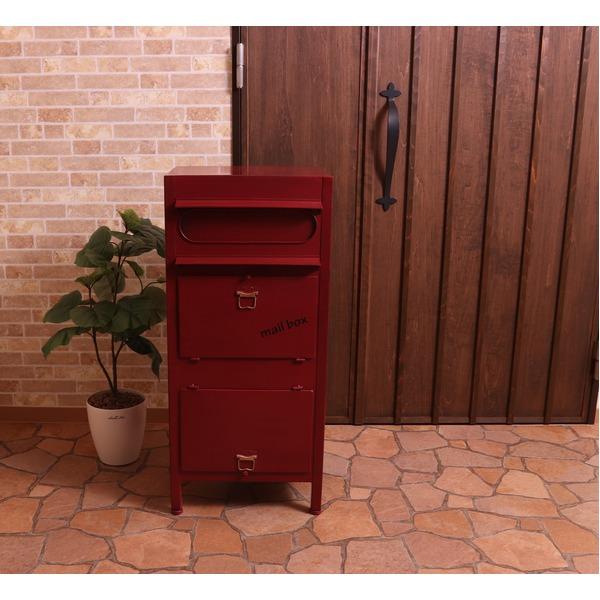 大きい目の郵便も入る便利な「ラージスタンドポスト【Calebカレブ】」