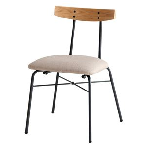 ダイニングチェア anthem Chair(adap) ナチュラル 【組立品】 - 拡大画像