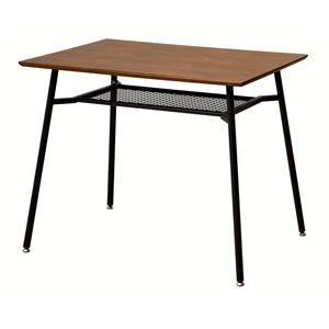 ダイニングテーブル anthem Dining Table S ブラウン 【組立品】 - 拡大画像
