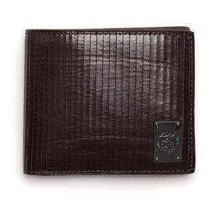 DIESEL (ディーゼル ) X03263 P0093 T2189 二つ折り財布 シールブラウン - 拡大画像