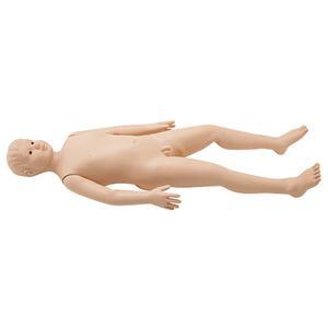 タケシくん(小児モデル/看護実習モデル人形) シリコン製 入浴可 シームレス M-106-1 - 拡大画像