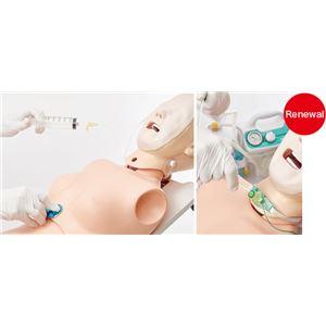 サカモト経管栄養トレーナーII(看護実習モデル人形) 頭部可動 M-190-0