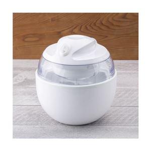 アイスクリームメーカー/アイスメーカー 【直径16cm】 最大使用容量:300ml コンパクト保冷ポット 『貝印』 - 拡大画像