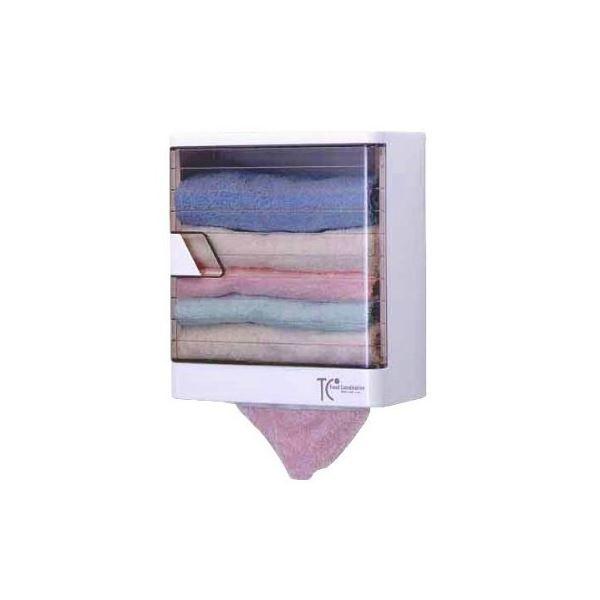 タオルケースDX(タオル収納棚/洗面所収納) 幅26.8cm×奥行14.5cm 壁掛け式 日本製