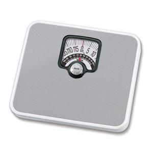 TANITA タニタ 体重計/ヘルスメーター 【アナログ】 シルバー チェッカー付き 最小表示:1kg - 拡大画像