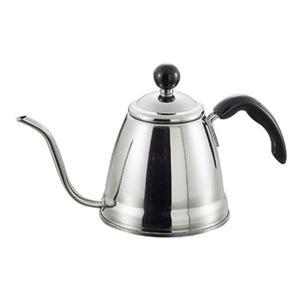 コーヒーポット/ドリップポット 【細口 1.2L】 ステンレス製 IH・ガスコンロ対応 日本製 『フィーノ』
