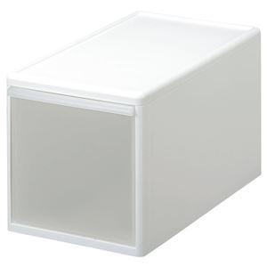 収納ケース(プラスチックケース/収納ボックス) 幅25.5cm×高さ28cm 『ユニコム』 - 拡大画像